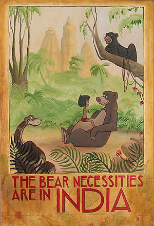 """The Bear-Necessities of Life"" by Tricia Buchanan-Benson inspired by The Jungle Book"