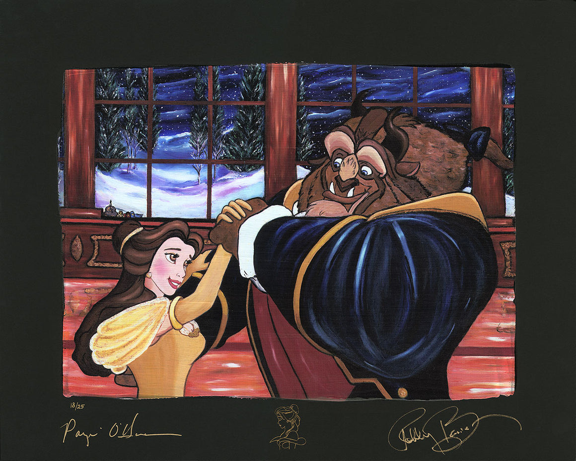 """Ever A Surprise"" (Chiarograph) by Paige O'Hara inspired by Beauty and the Beast"