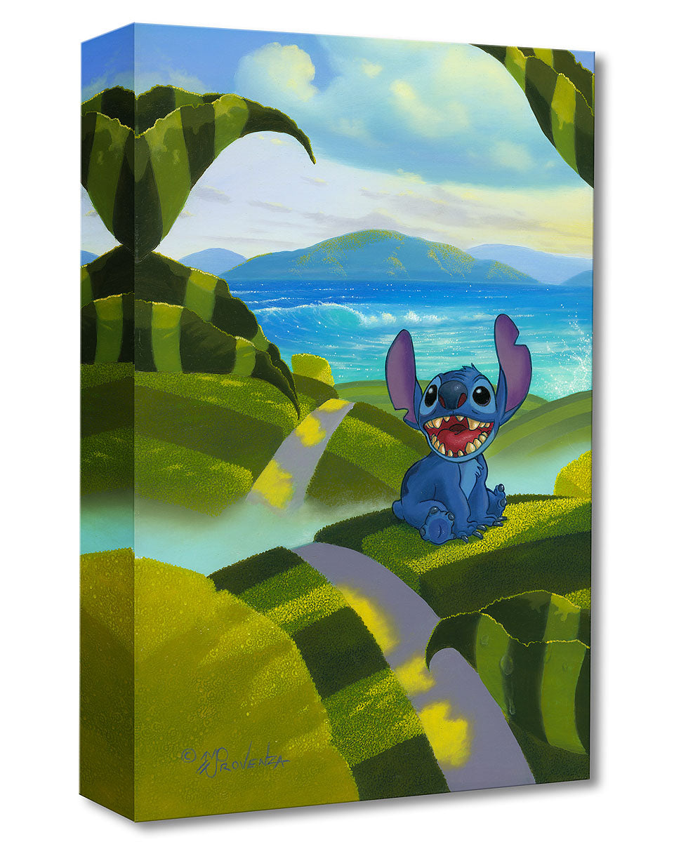 """Home"" by Michael Provenza inspired by Lilo and Stitch"