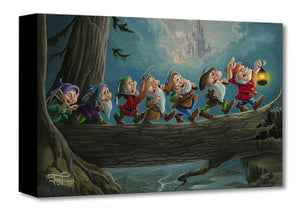 """Home to Snow"" by Jared Franco inspired by Snow White and the Seven Dwarfs"