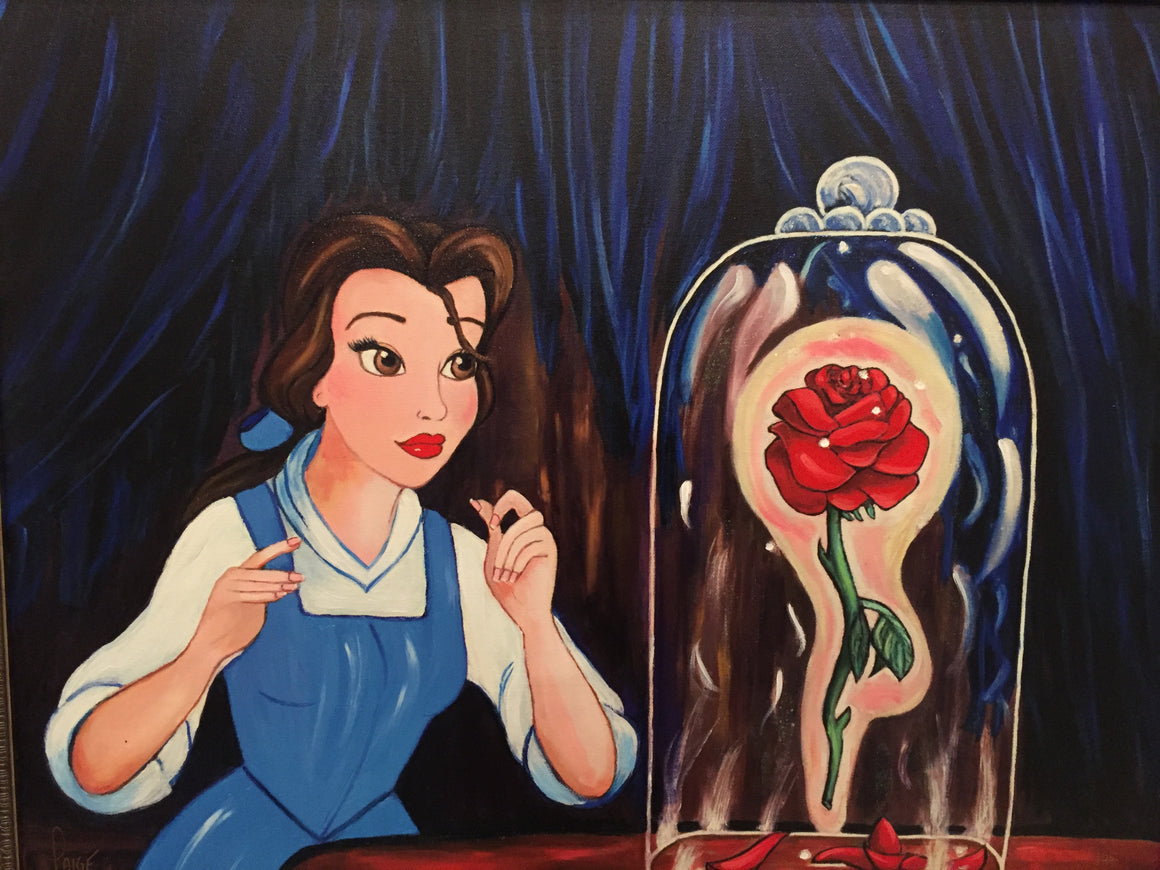 """Fallen Petals"" by Paige O'Hara inspired by Beauty and the Beast"