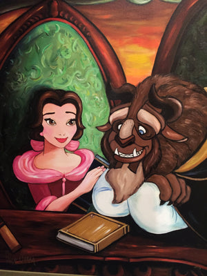 """Our Story"" by Paige O'Hara inspired by Beauty and the Beast"