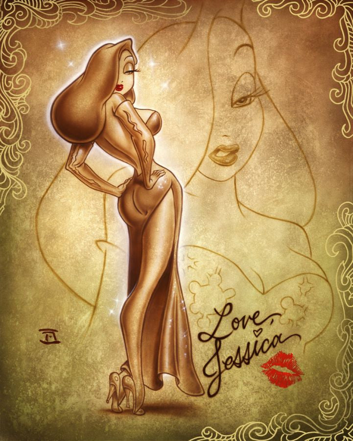 """Love Jessica"" by Noah inspired by Who Framed Roger Rabbit"