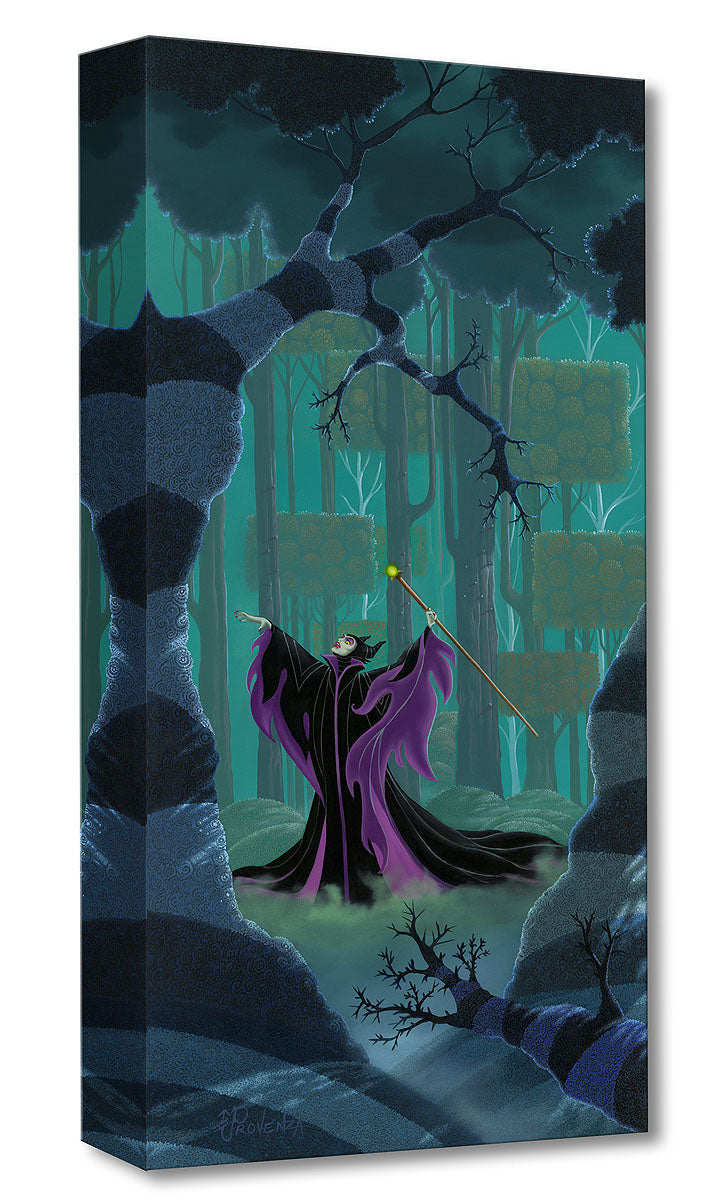 """Maleficent Summons the Power"" by Michael Provenza inspired by Sleeping Beauty"