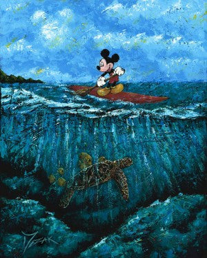"""Mickey's Summer"" with Mickey Mouse by Trevor Mezak"