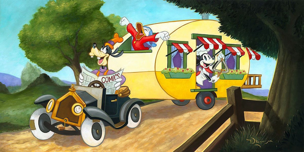 """Mickey's Trailer"" By Tim Rogerson"