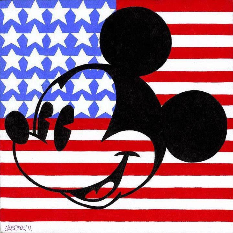 """Mickeymerica"" with Mickey Mouse by Tennessee Loveless"
