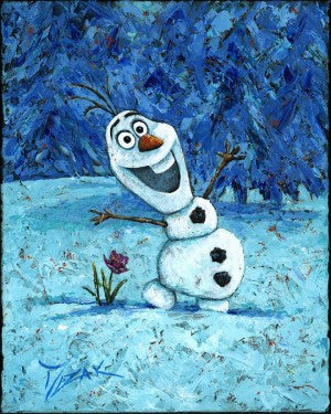 """Olaf"" by Trevor Mezak inspired by Disney's Frozen"