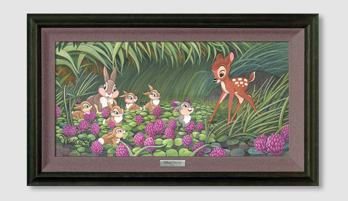 """Saying Hello To Thumper"" by Michelle St. Laurent inspired by Bambi"
