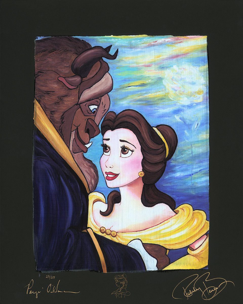 """Tale As Old As Time"" (Chiarograph) by Paige O'Hara inspired by Beauty and the Beast"