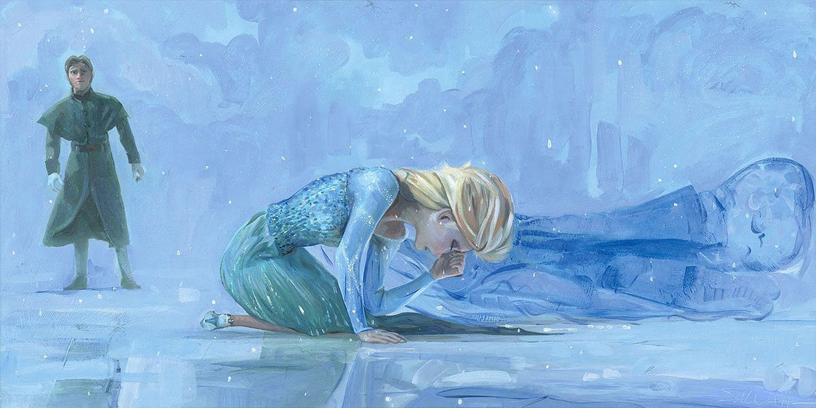 """The Coldest Day"" by Jim Salvati inspired by Frozen"