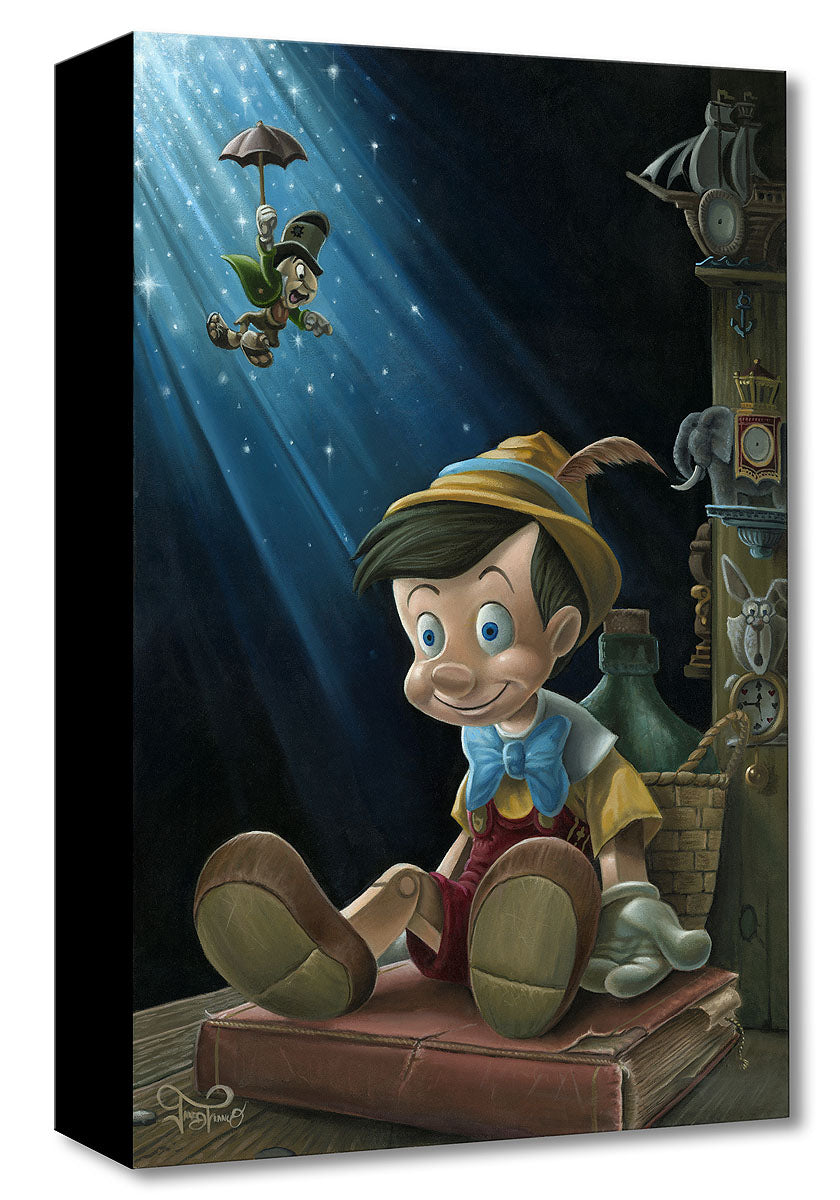 """The Little Wooden Boy""  by Jared Franco inspired by Pinocchio"
