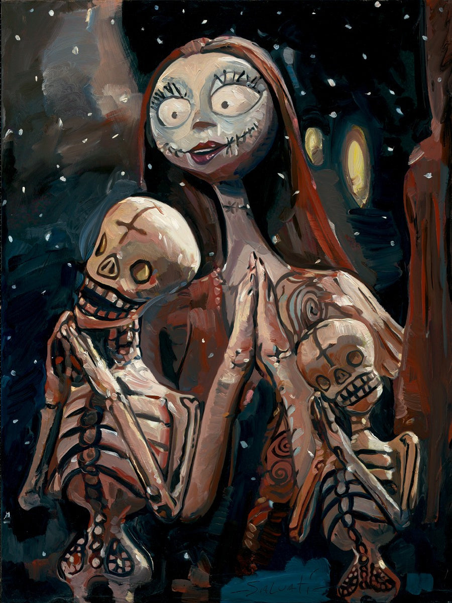 """The Pumpkin Dance"" by Jim Salvati inspired by The Nightmare Before Christmas"