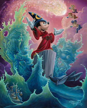 """The Sorcerer's Finale"" by Jared Franco inspired by Fantasia"