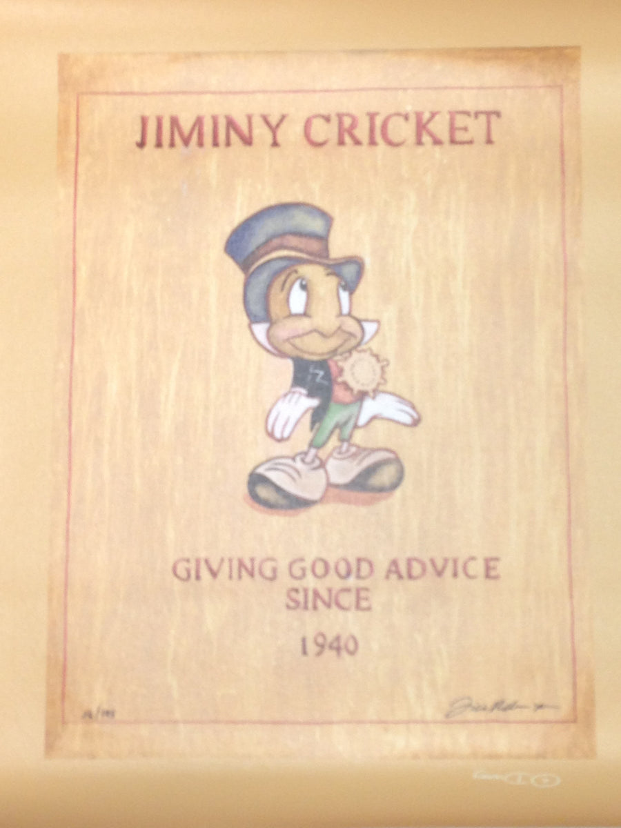 "Pinocchio inspired ""Giving Good Advice"" by Tricia Buchanan-Benson"