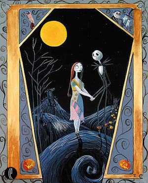 """Together"" by Tricia Buchanan-Benson inspired by The Nightmare Before Christmas"