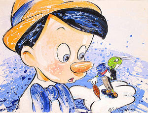 """Boy oh Boy oh Boy"" Pinocchio by David Willardson"