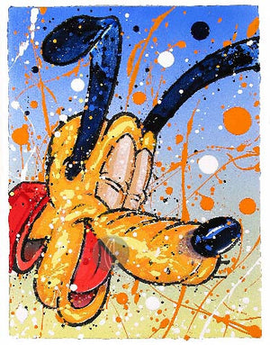 """What's So Dog Gone Funny?"" Pluto by David Willardson"