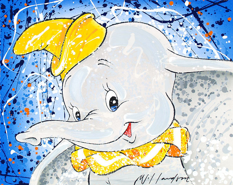 """Keep It Under Your Hat"" Dumbo by David Willardson"