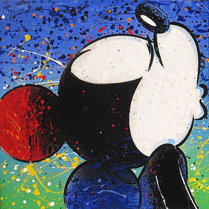 """Lovey"" Mickey Mouse by David Willardson"