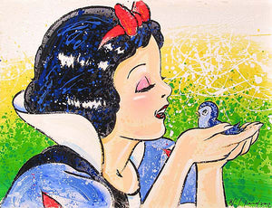 "Snow White - ""A Fine Feathered Friend"" By David Willardson"