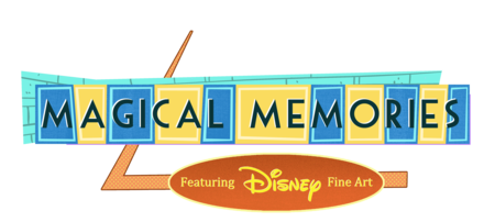 Magical Memories featuring Disney Fine Art