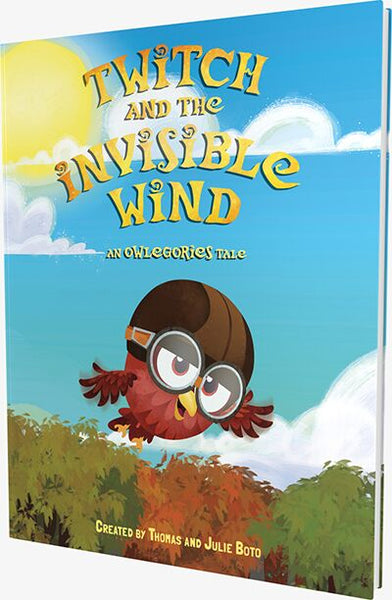 Twitch and the Invisible Wind (Owlegories Storybook)