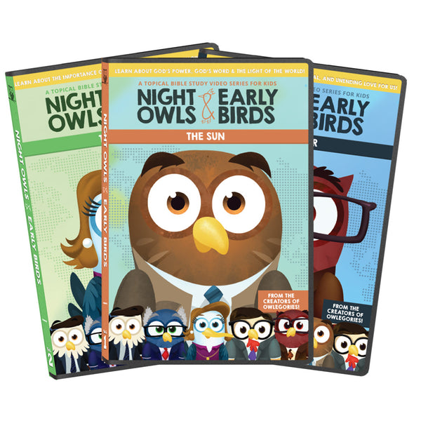 All THREE Night Owls & Early Birds DVDs