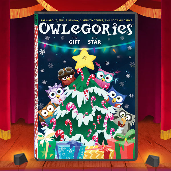 Owlegories Vol. 4 - The Gift and The Star (Christmas Episodes!)