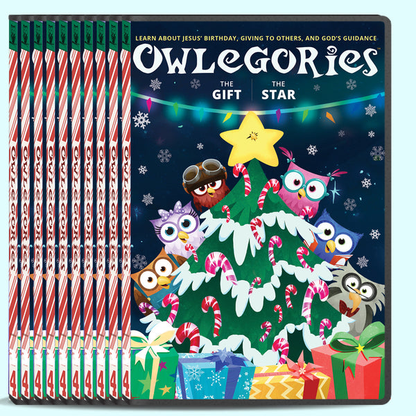 Owlegories Vol. 4 DVD - Bulk Pricing