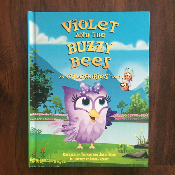 Violet and the Buzzy Bees (Book)
