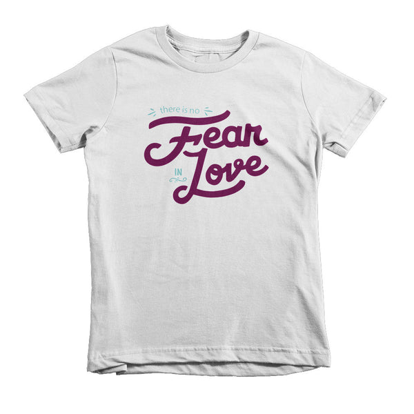 No Fear in Love - Short sleeve kids t-shirt [MORE COLORS AVAILABLE]