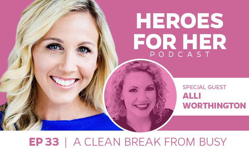 Allí Worthington: A Clean Break From Busy