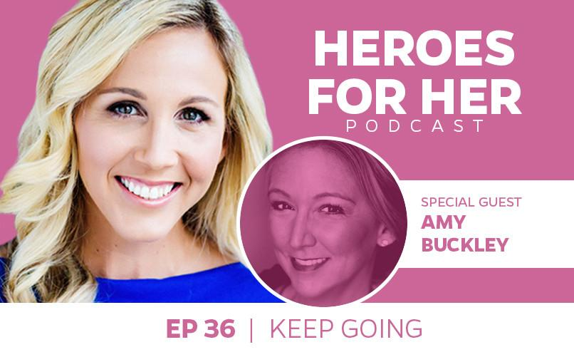 Amy Buckley: Keep Going