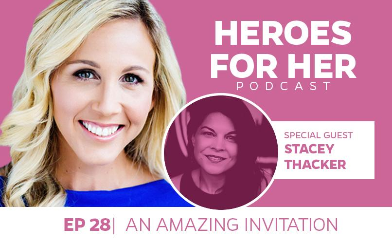 Stacey Thacker: An Amazing Invitation