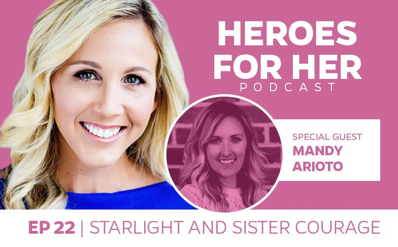 Mandy Arioto: Starlight and Sister Courage