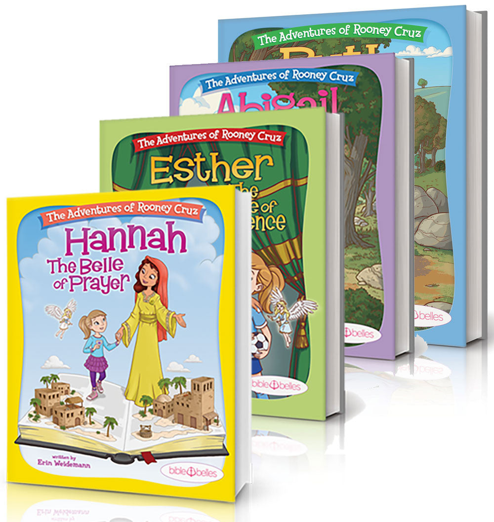 kids christian book series biblebelles