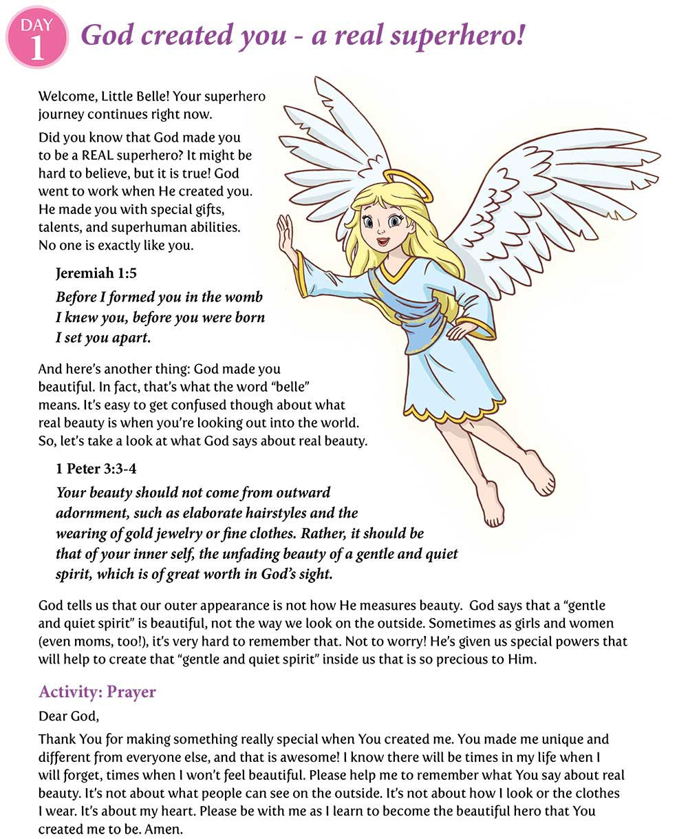 Becoming A Belle Of Bravery Kids Devotional Download