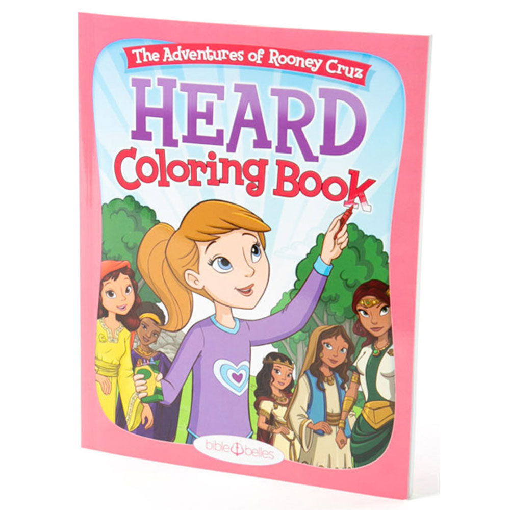 HEARD Kids Coloring Book - Shipping to Canada