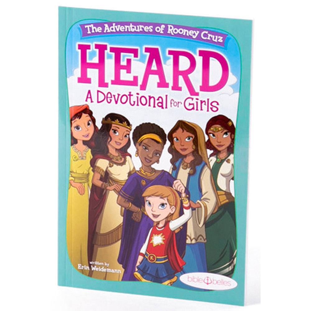 HEARD - A Devotional For Girls - Shipping to Canada