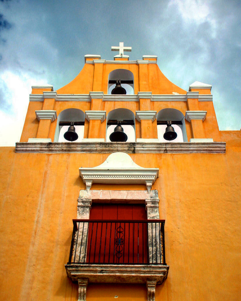 The Surprising History Of The Small Yellow Church In Campeche Mexico