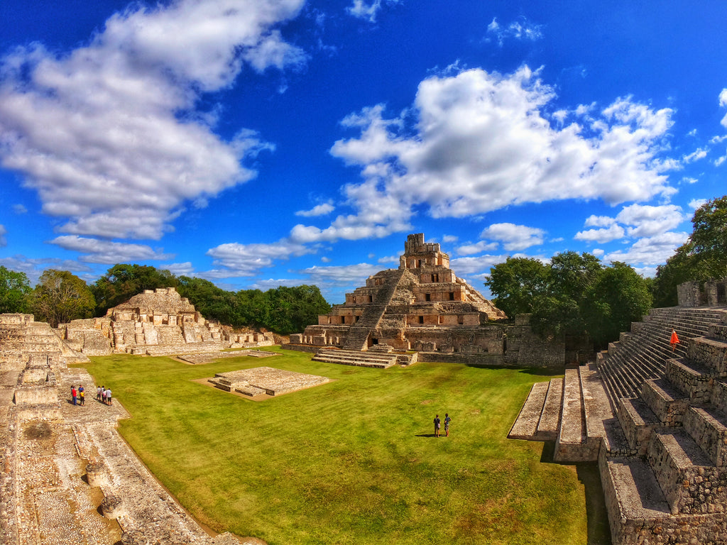 Deep In The Jungle Of Campeche: Mayan Ruins Of Edzna