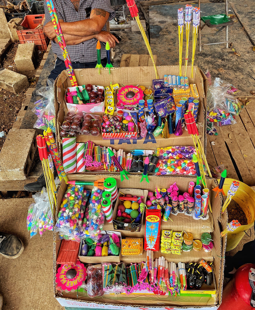 You Never Know What Your Gonna Get: Shopping For Fireworks in Merida, Mexico
