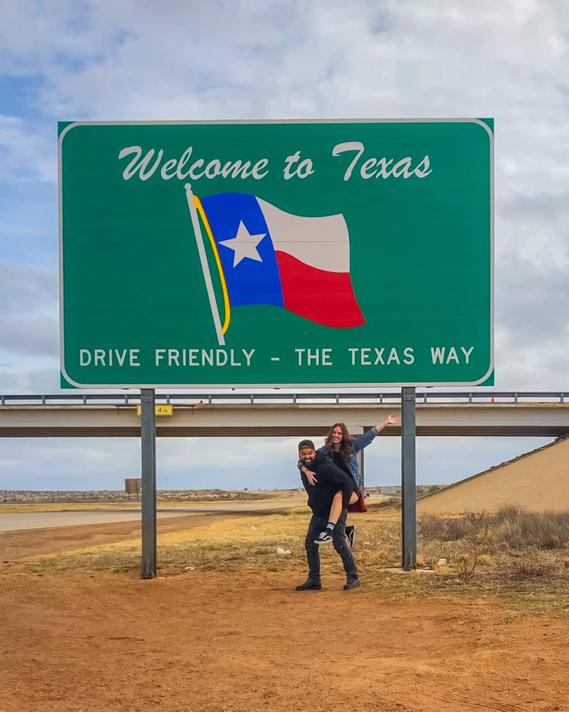 WElcome to texas with urban city nomads
