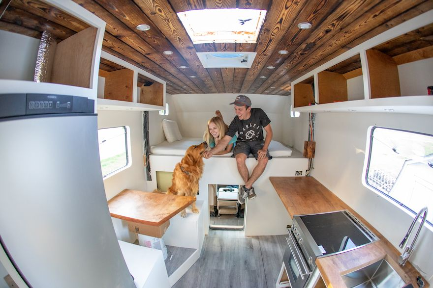 Andrew Muse talks about converting his Truck Camper in this interview with Maca