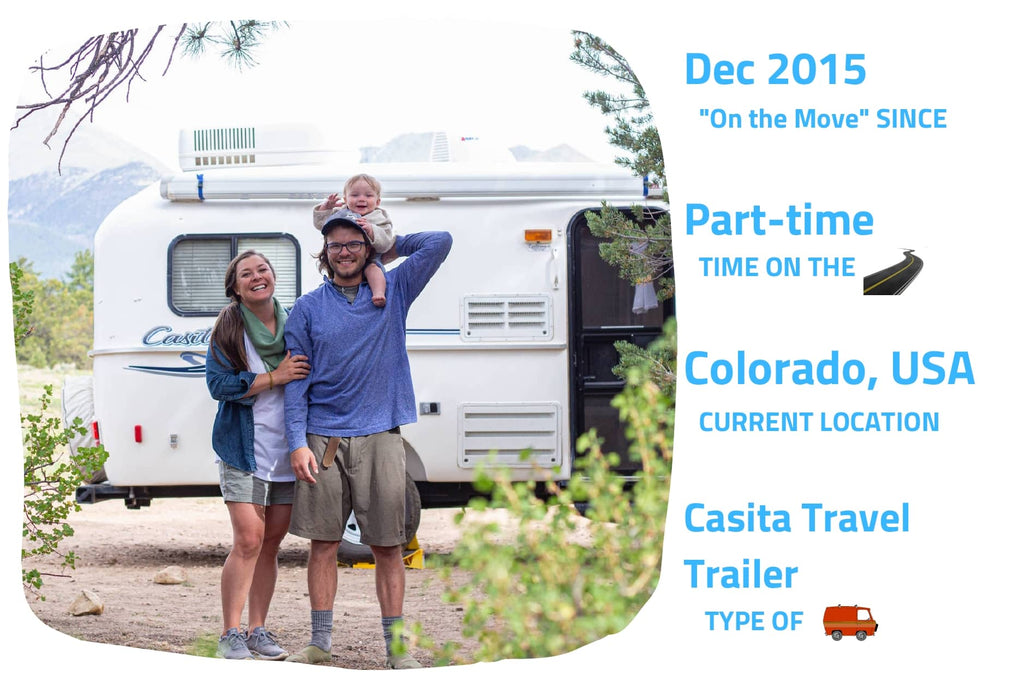 Tiny home living interview with Lindsey and Adam from nuventure travels - maca