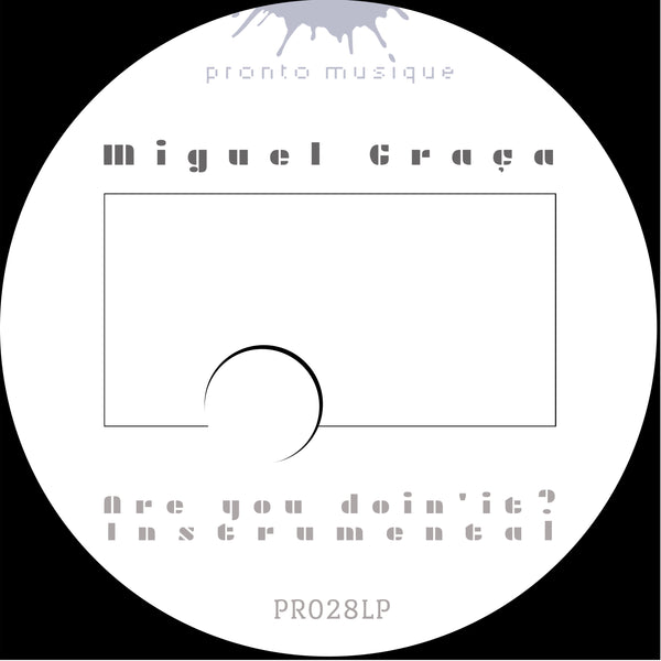 Miguel Graca - A New Dawn LP INSTRUMENTAL VERSION