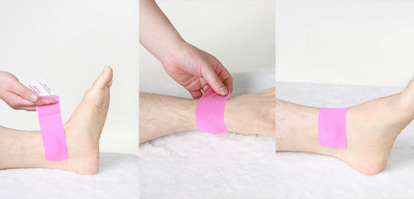 The Elixir Kinesiology Therapeutic Sports Tape Guide - Application Instruction (Ankle)