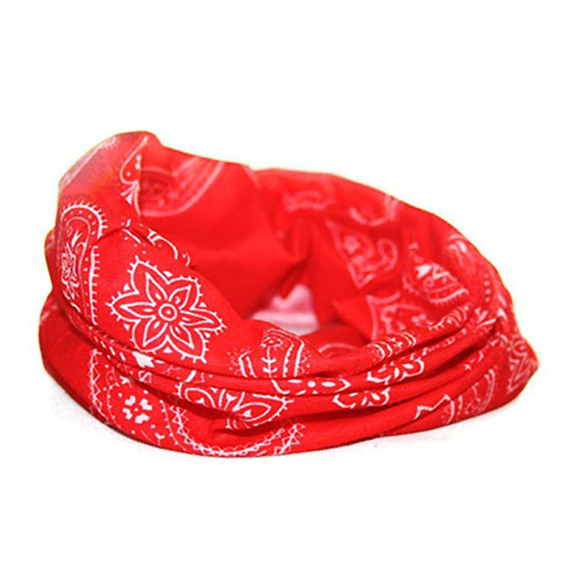 Pack of 2, UV Protection Face Scarf Casual Balaclava Headwear Stretchable Bandanna Headbands Neck Gaiter