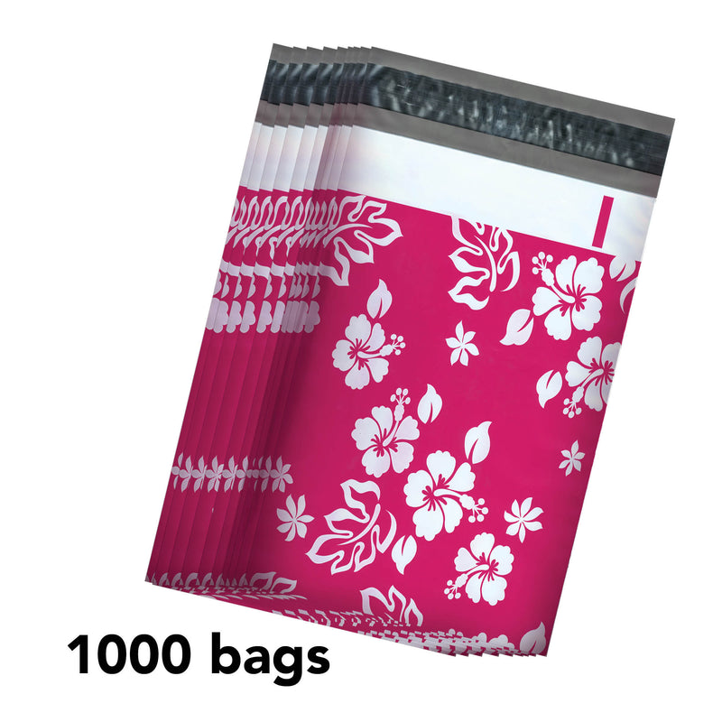 100/200/1000 CT 6 x 9 Aloha Pink Premium Designer Printed Poly Mailer Shipping Envelopes Waterproof Self Seal Adhesive Package Mail Bag